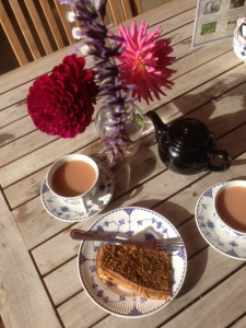 homemade teas at Hole Park, Kent