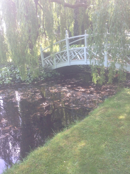 Monet style bridge