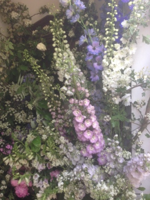 English country flowers.