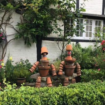 flowerpot men in Shere