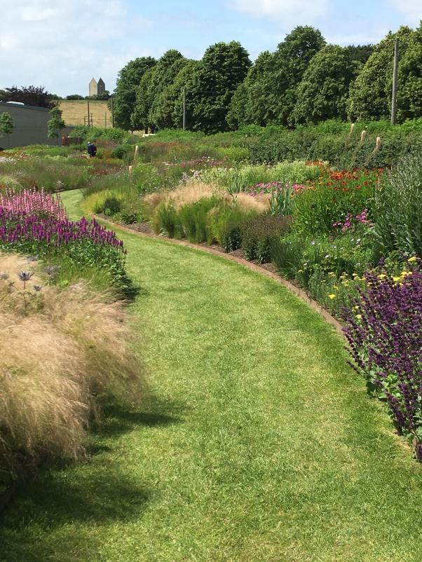Piet Oudolf garden at Hauser and Wirth, Somerset