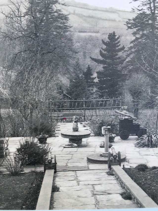 The original stone garden at Rosemoor