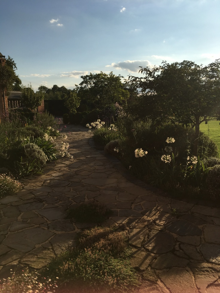 The West Garden, Morton Hall