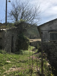 Empty houses at Old Perithia