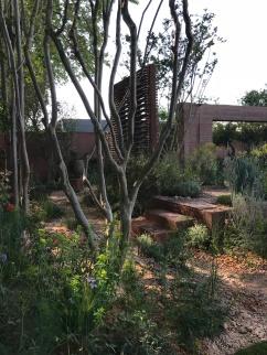 Mediterranean softness in the M&G Garden