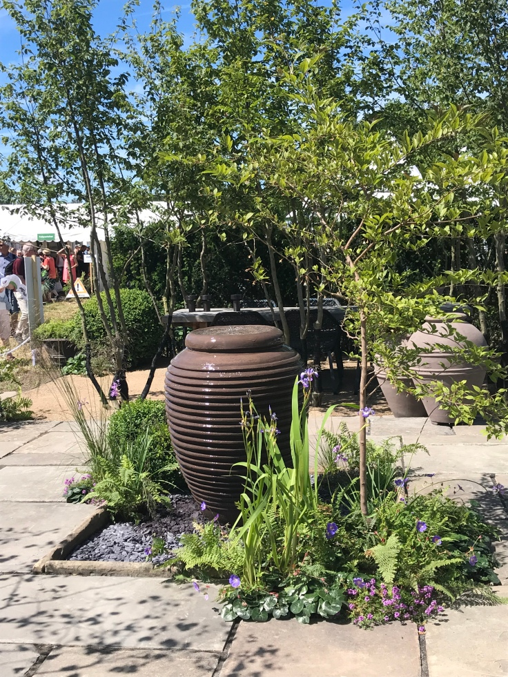 A show garden at the CPH garden show 2019