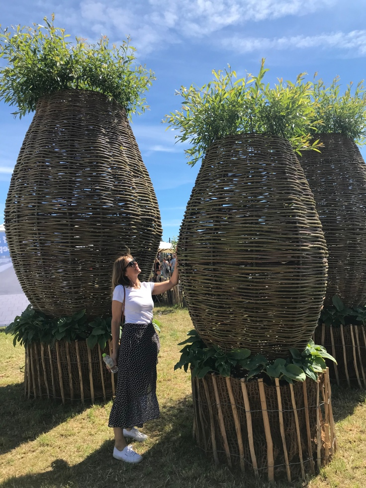 Giant willow structures